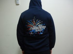screen print hoodie
