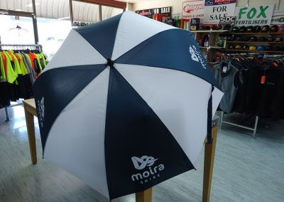 Screen printed umbrella