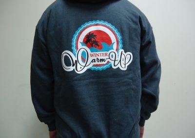 Scren printed hoodie
