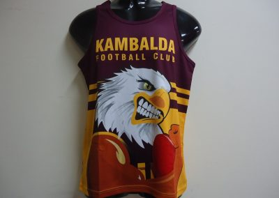 Sublimated Pre Season Singlet