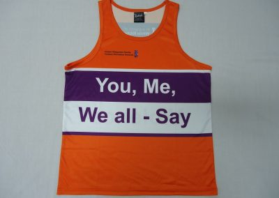 Sublimated singlet front
