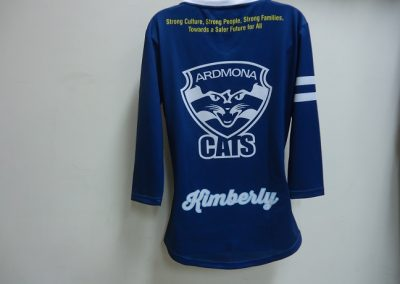 Sublimated training top