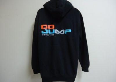 screen printed hoodie