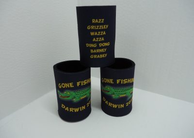 Fishing trip stubby holder