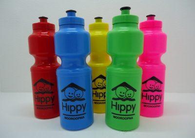 Bright sports bottles