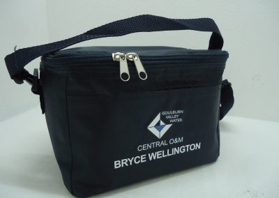 Cooler bag with transfer