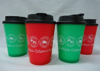 Double walled reusable cup