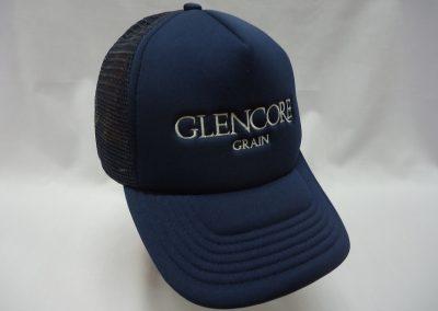 Embroidered trucker hat