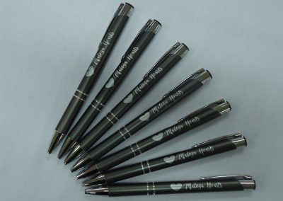 Metal pens