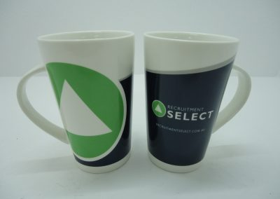 Mug with 3 colour wrap print