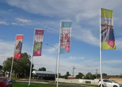 Nagambie street banners