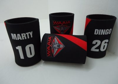 Personalised stubby holder