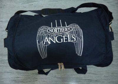 Printed sports bag