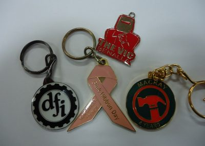 Stamped Keyrings
