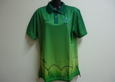 Sublimated ladies polo