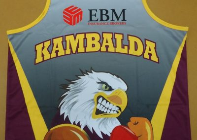 Sublimated singlets front