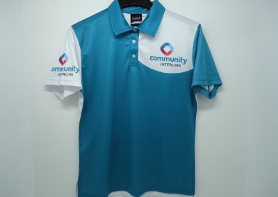 Sublimted polo