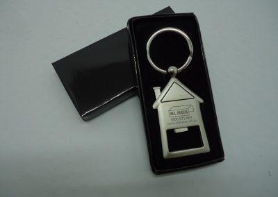 laser engraved keyring