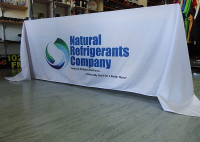 sublimated table cloth