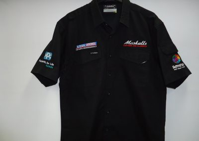 Multi embroidery shirt
