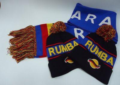 Custom beanie & scarves