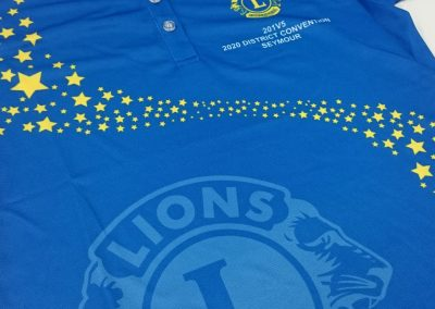 Lion club confrence sublimated