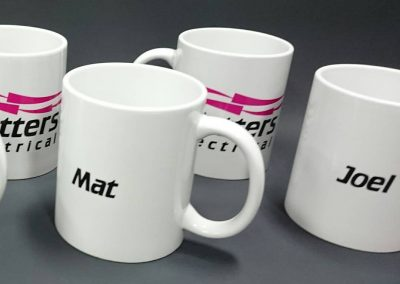 Sublimated mug with personal name