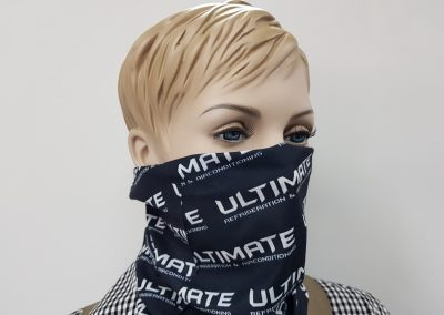 Sublimated neck warmer - mask