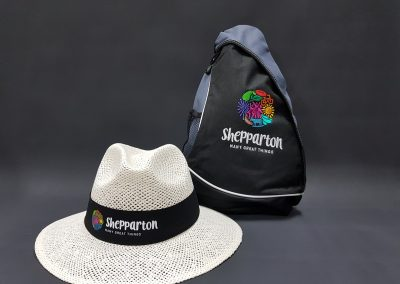 Back pack & hat